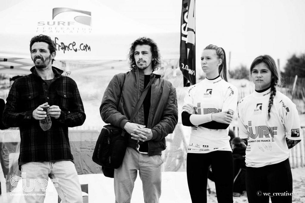 Entrainements de Surf Hait Niveau à Biarritz avec les frères Delpero